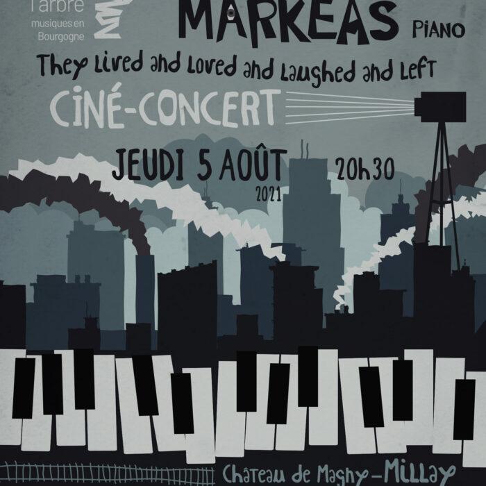 Ciné-Concert Alexandros Markeas, création mondiale !!